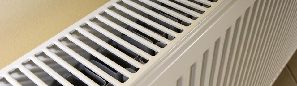 radiator van boven gezien
